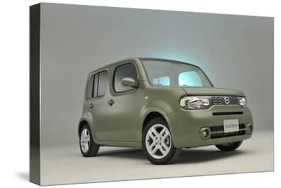 Nissan Cube 2008-Simon Clay-Stretched Canvas Print