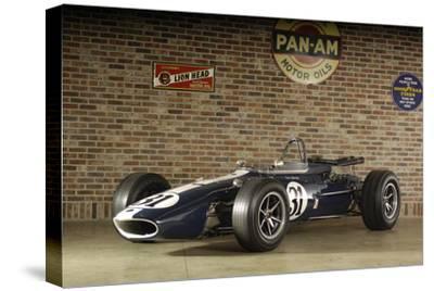 Gurney Eagle racing car 1966-Simon Clay-Stretched Canvas Print