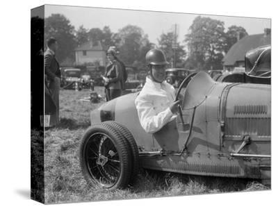 Bugatti Type 35, Bugatti Owners Club Hill Climb, Chalfont St Peter, Buckinghamshire, 1935-Bill Brunell-Stretched Canvas Print