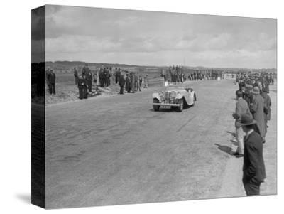 SS 1 4-seater tourer competing in the RSAC Scottish Rally, 1934-Bill Brunell-Stretched Canvas Print