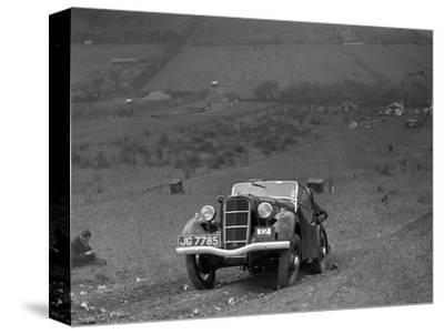 Ford Model C Ten competing in the London Motor Club Coventry Cup Trial, Knatts Hill, Kent, 1938-Bill Brunell-Stretched Canvas Print