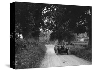 Talbot 18 - 55 4-seater tourer competing in the JCC Inter-Centre Rally, 1932-Bill Brunell-Stretched Canvas Print