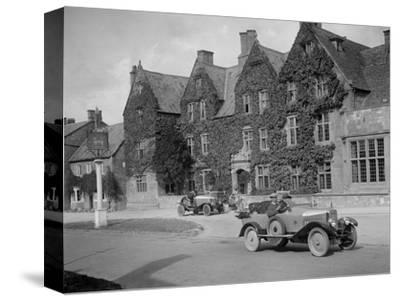 Calthorpe 4-seater tourer, Broadway, Worcestershire, c1920s-Bill Brunell-Stretched Canvas Print
