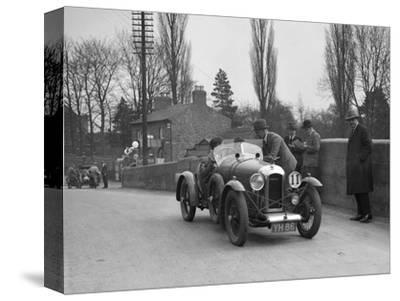 Amilcar Standard Sports at the Ilkley & District Motor Club Trial, Thirsk, Yorkshire, 1930s-Bill Brunell-Stretched Canvas Print