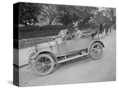 Swift car taking part in a motoring trial, c1920s-Bill Brunell-Stretched Canvas Print