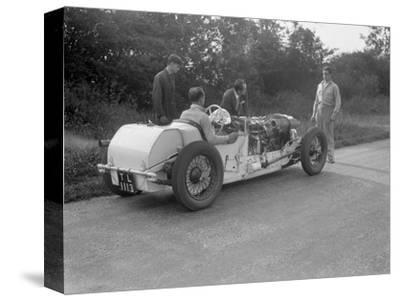 Road testing Raymond Mays Vauxhall-Villiers, c1930s-Bill Brunell-Stretched Canvas Print