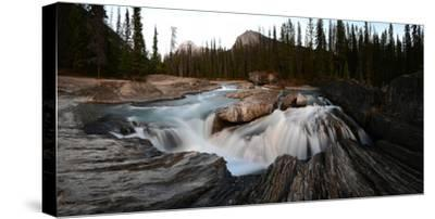 Natural Bridge over Kicking Horse River in Yoho National Park-Raul Touzon-Stretched Canvas Print