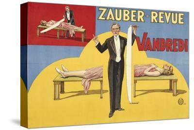 Zauber-Revue - Vandredi. Germany, 1923 (Adolph Friedländer, Hamburg)- Atelier Adolph Friedländer-Stretched Canvas Print