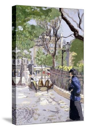 Place Vintimille. Ca. 1915--Stretched Canvas Print