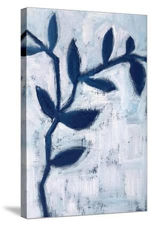 Blue and White I-Anne Seay-Stretched Canvas Print
