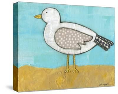 Seagull by the Seashore-Alli Rogosich-Stretched Canvas Print