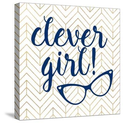 Clever girl!-Bella Dos Santos-Stretched Canvas Print