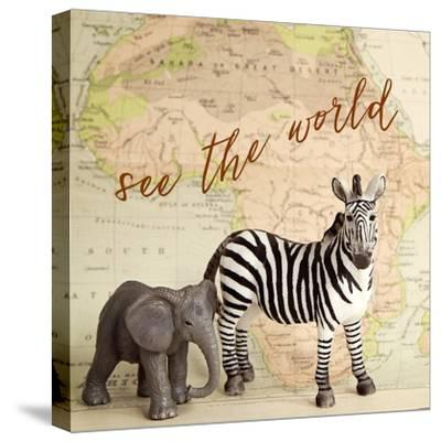 See The World-Susannah Tucker-Stretched Canvas Print