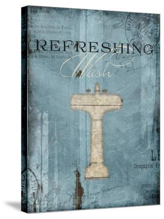 Refreshing Wash-Jace Grey-Stretched Canvas Print