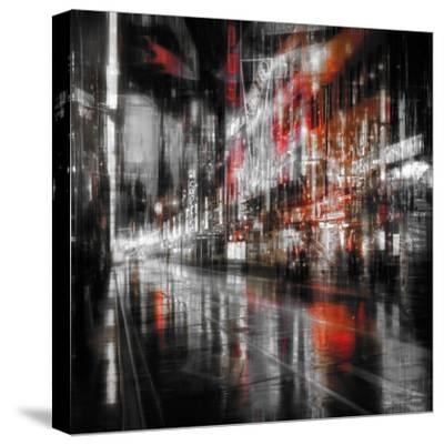 City At Night 5-Ursula Abresch-Stretched Canvas Print