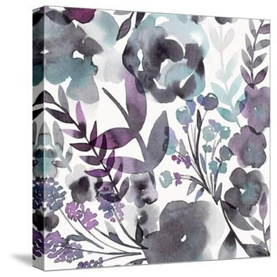 Blooming Plum Garden III-Diane Kappa-Stretched Canvas Print