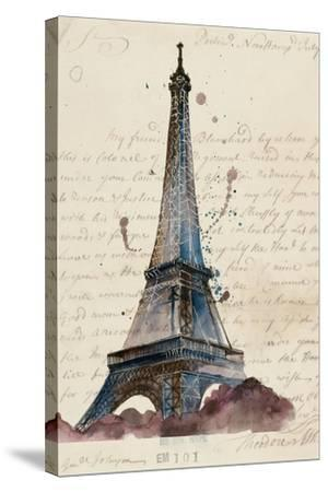 Letters from Eiffel-Melissa Wang-Stretched Canvas Print