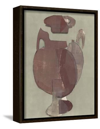 Abstract Vessel I-Rob Delamater-Framed Stretched Canvas Print