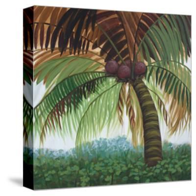 Tropic Palm II-Julie Joy-Stretched Canvas Print
