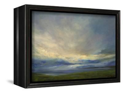 Clouds on the Bay III-Sheila Finch-Framed Stretched Canvas Print