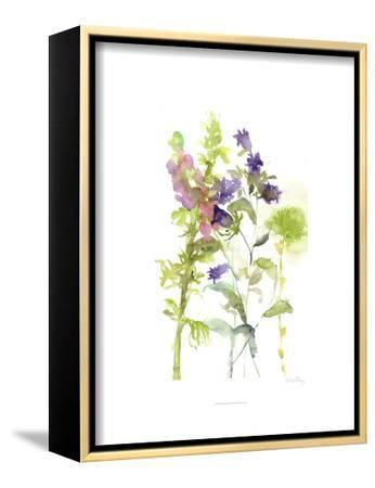 Watercolor Floral Study I-Melissa Wang-Framed Stretched Canvas Print