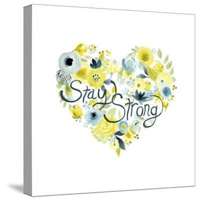 Heartfelt Floral I-June Vess-Stretched Canvas Print