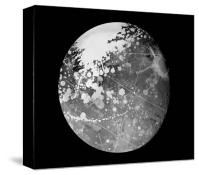 Abstract Moon Phase 7-THE Studio-Stretched Canvas Print