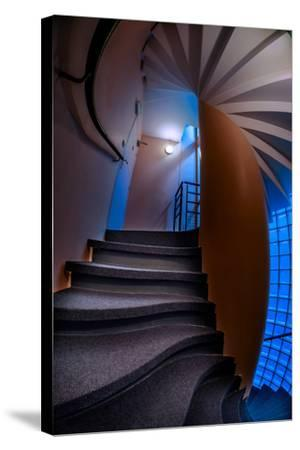 de Conde Stairwell-Steven Maxx-Stretched Canvas Print
