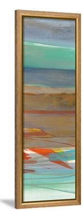 Layers III-Jo Maye-Framed Stretched Canvas Print