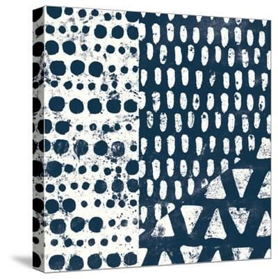 Mark Making Tile III-Moira Hershey-Stretched Canvas Print