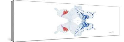 Miss Butterfly Duo Parisuthus Pan - X-Ray White Edition-Philippe Hugonnard-Stretched Canvas Print