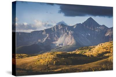 Sunrise On Wilson Peak, Telluride, Colorado-Louis Arevalo-Stretched Canvas Print