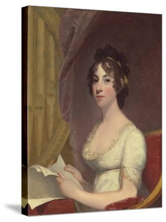 Anna Maria Brodeau Thornton (Mrs. William Thornton), 1804-Gilbert Stuart-Stretched Canvas Print