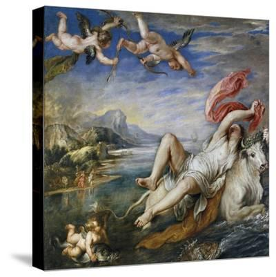 Rape of Europe, 1628-9-Peter Paul Rubens-Stretched Canvas Print