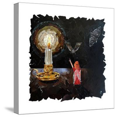 Element Fairy - Fire-Kirstie Adamson-Stretched Canvas Print
