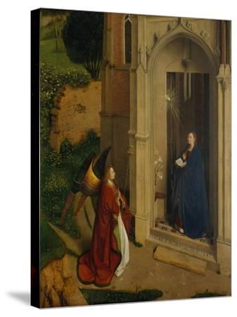 The Annunciation, c.1450-Petrus Christus-Stretched Canvas Print