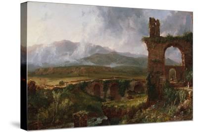 A View Near Tivoli (Morning), 1832-Thomas Cole-Stretched Canvas Print