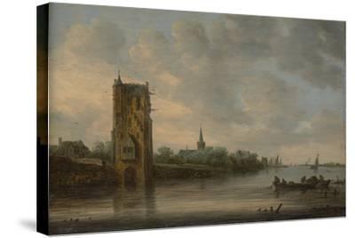 The Pelkus Gate Near Utrecht, 1646-Jan Van Goyen-Stretched Canvas Print