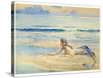 The Mermaid-John Reinhard Weguelin-Stretched Canvas Print