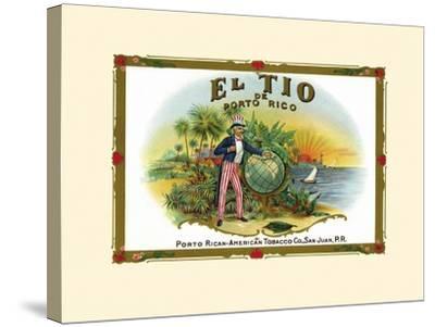 El Tio De Puerto Rico--Stretched Canvas Print