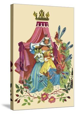 Fairy Queen-Sheilah Beckett-Stretched Canvas Print