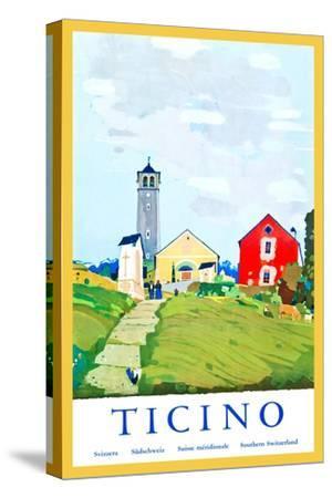Ticino-Daniele Buzzi-Stretched Canvas Print