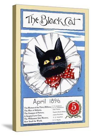 The Black Cat, April 1896--Stretched Canvas Print