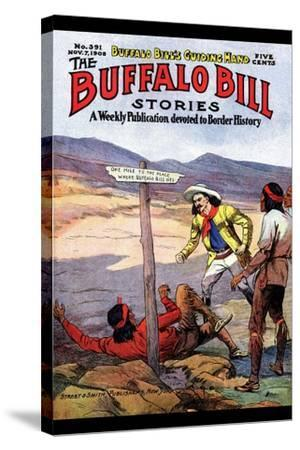 Buffalo Bill Stories- Street & Smith-Stretched Canvas Print