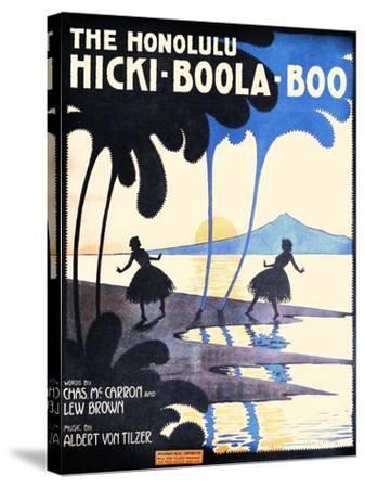 The Honolulu Hicki-Boola-Boo-Andre C. De Takacs-Stretched Canvas Print