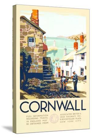 Cornwall-John+F60 Francis Bee-Stretched Canvas Print