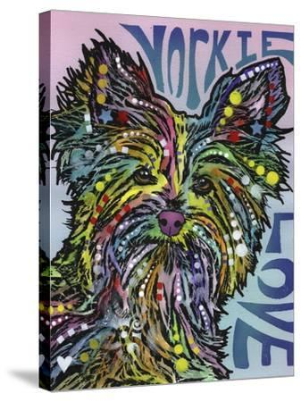 Yorkie Luv-Dean Russo-Stretched Canvas Print