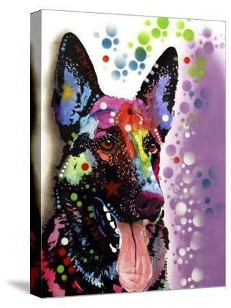 German Shepherd-Dean Russo-Stretched Canvas Print