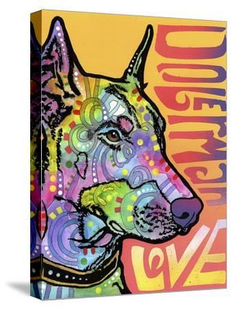 Doberman Luv-Dean Russo-Stretched Canvas Print