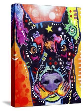 Doberman-Dean Russo-Stretched Canvas Print